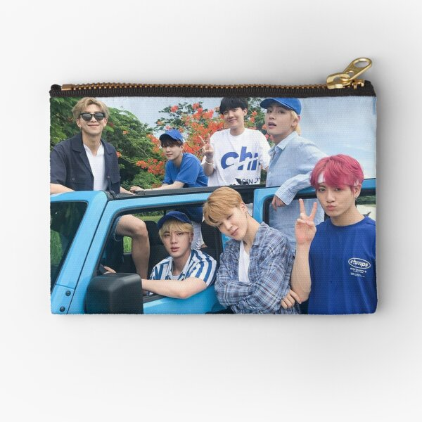 BTS Summer 2018 (Group Poster) Zipper Pouch
