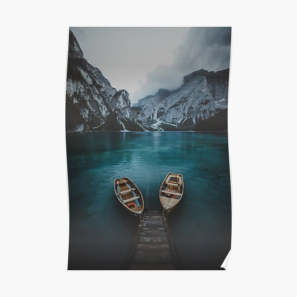 Braies - Dolomites Collection Poster
