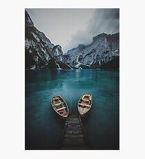 Braies - Dolomites Collection Photographic Print