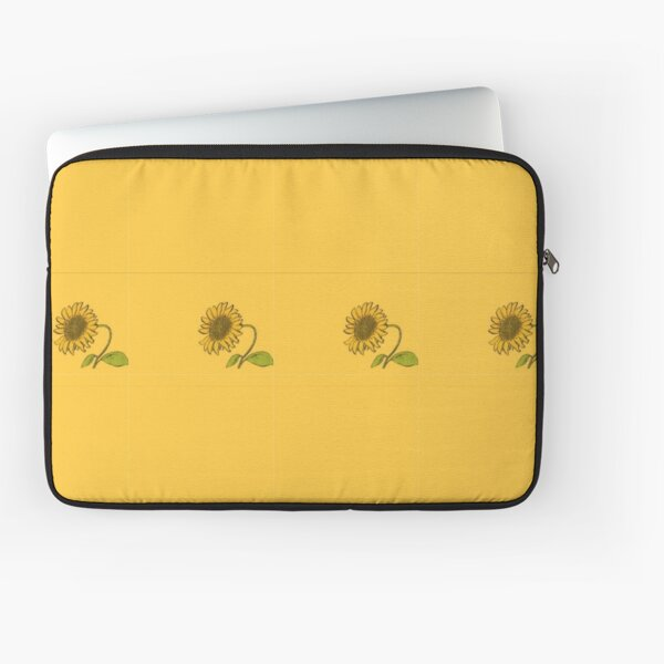 Aesthetic sunflower Laptop Sleeve