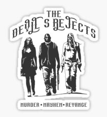 The Devil's Rejects Sticker