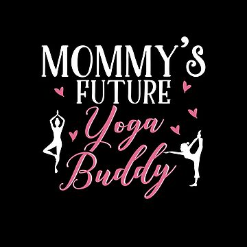 Yoga Mom Daughter Matching Gifts by KsuAnn