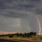 The Road to Bonshaw Lightning by Michael Bath
