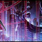 Cyberpunk Cityscape 01 Combined  by Ian Sokoliwski