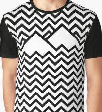 Camiseta gráfica Twin Peaks