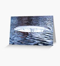 The Hole In The Ocean Layer Greeting Card