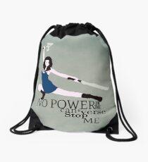 No Power in the 'Verse Drawstring Bag