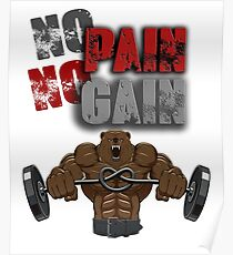 No pain no gain  Poster