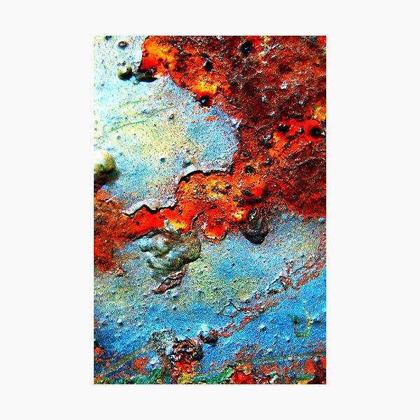 Rust Never Sleeps Photographic Print