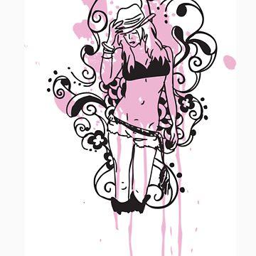 Pink AJ by Victim