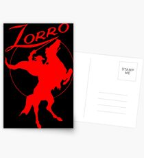 Zorro! (Scarlet Edition) Postcards