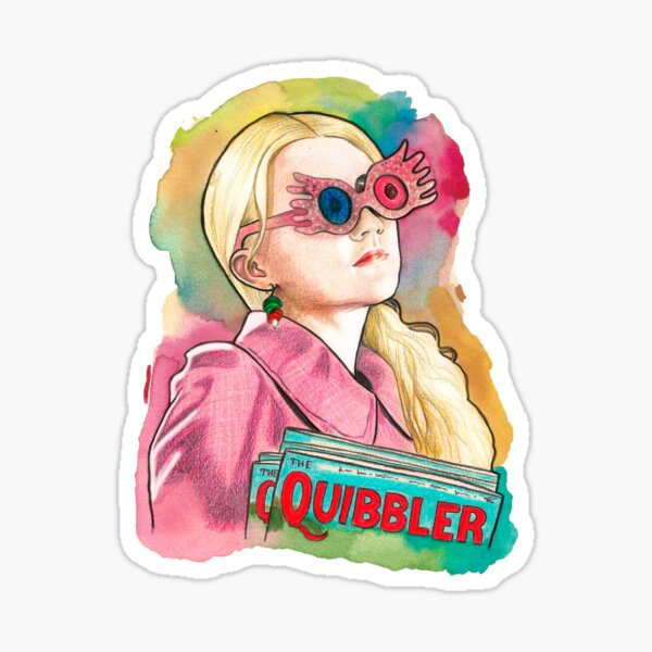 Luna Lovegood Sticker