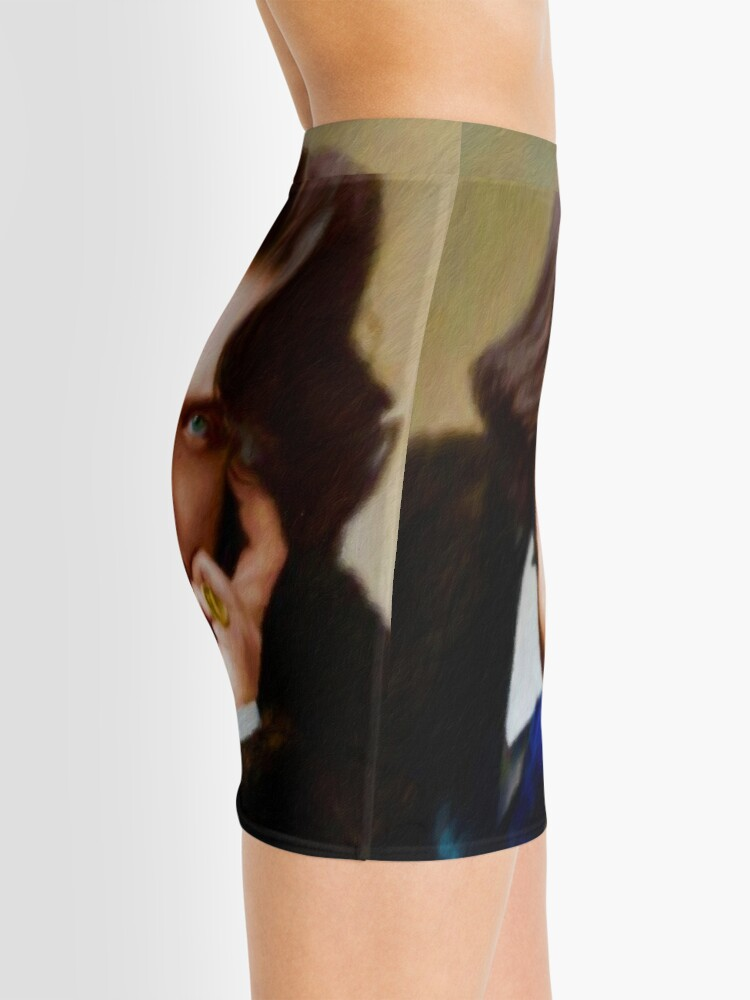 Alternate view of Oscar Wilde, Literary Legend Mini Skirt