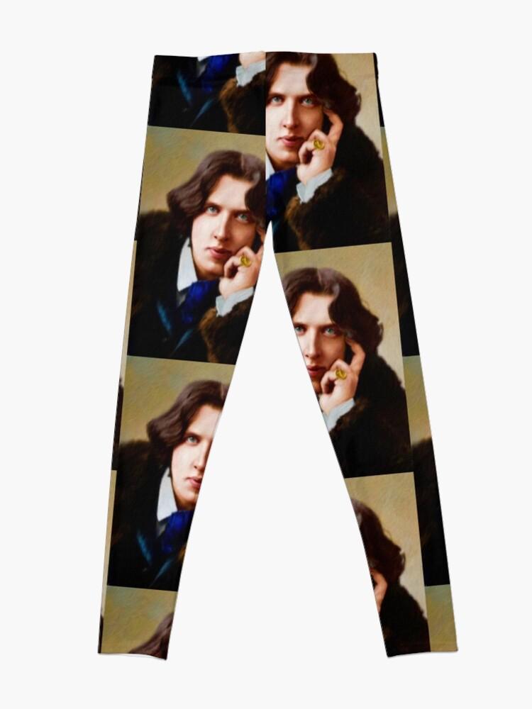 Alternate view of Oscar Wilde, Literary Legend Leggings