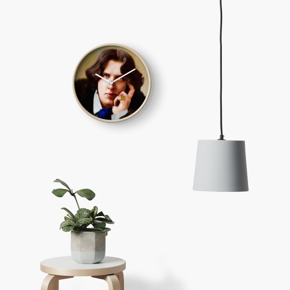 Oscar Wilde, Literary Legend Clock
