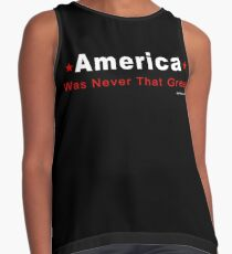 America Was Never That Great Contrast Tank