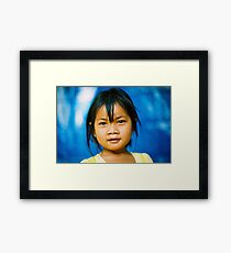 The eyes have it. Framed Print