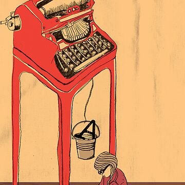 The Type Writer by tanyacooper