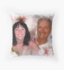 Happier Times Throw Pillow