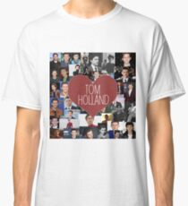 I love Tom Holland collage Classic T-Shirt