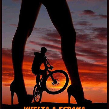 VUELTA A ESPANA : Vintage Bike Racing Advertising Print by posterbobs