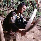 Winnowing rice by John Spies