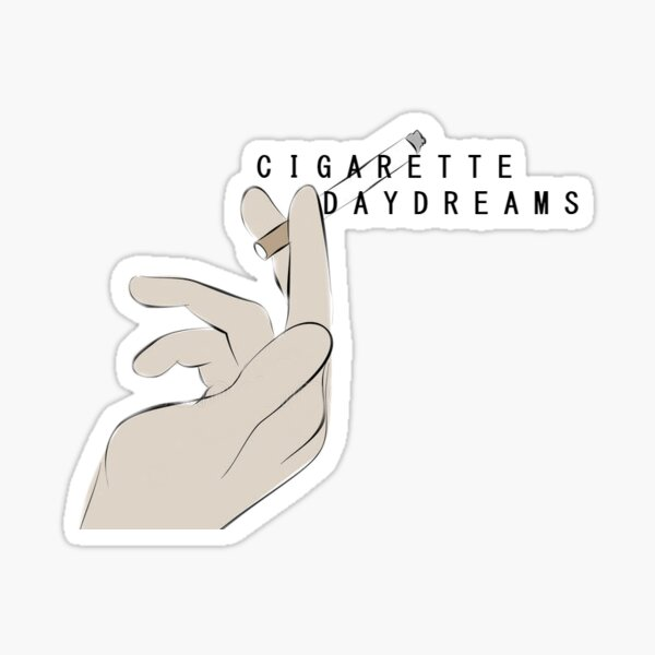Cigarettes Daydreams Cage the Elephant Sticker