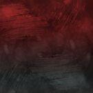 Red grey grunge design by Anteia