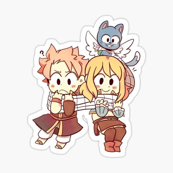 Chibi NaLu Sticker