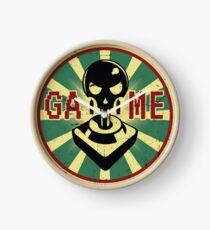 Video games propaganda Clock
