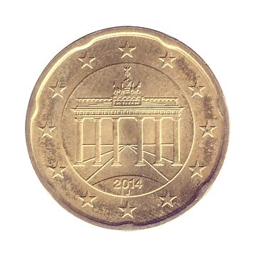 20 Euro Cents Nordic gold coin (Germany)  by PhotoStock-Isra