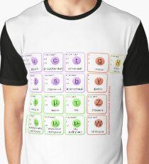 The Standard Model of Particle Physics: The Subatomic Realm, #Standard, #Model, #StandardModel, #Physics, Стандартная модель, #Стандартная, #модель, #Стандартнаямодель, #Физика Graphic T-Shirt