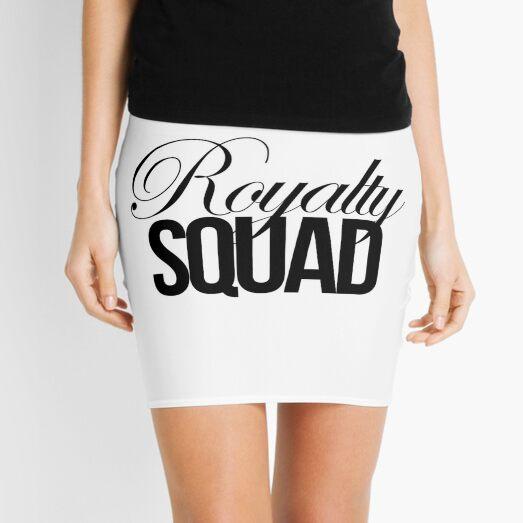 Royalty Squad Mini Skirt