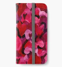 Adorable Watercolor Texture Bright Girly Design  iPhone Wallet/Case/Skin
