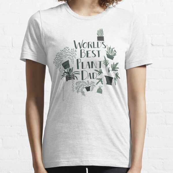 World's Best Plant Dad Essential T-Shirt