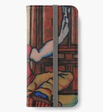 Vanity and the Devil in the corner                               iPhone Wallet/Case/Skin