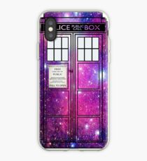 Starry Police Public Call Box. iPhone Case
