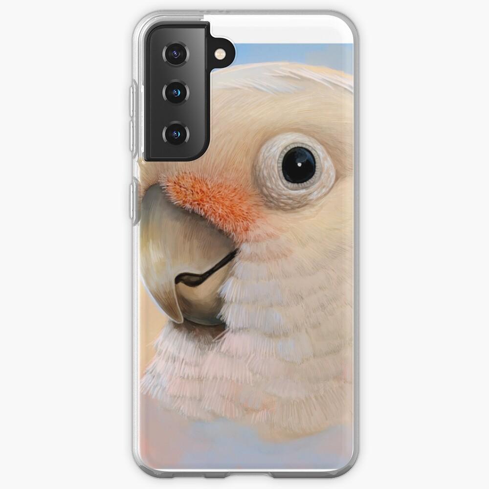 Goffin Tanimbar Corella Cockatoo Case & Skin for Samsung Galaxy