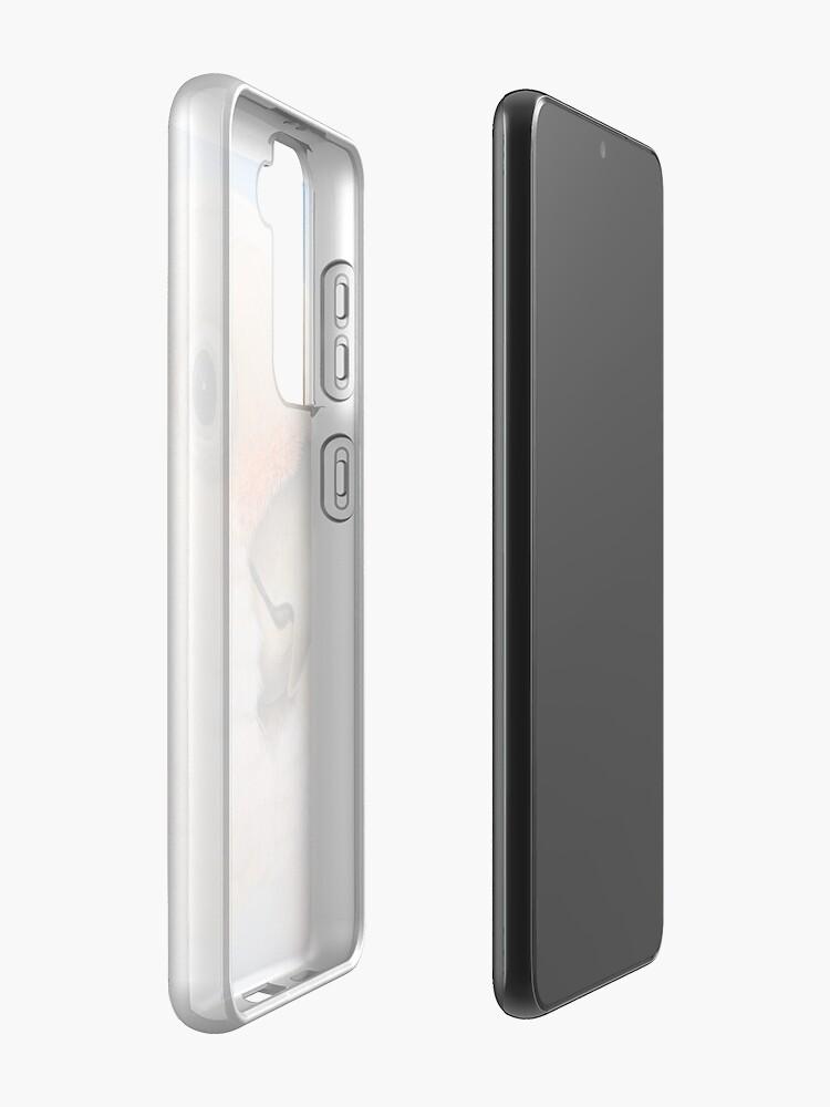 Alternate view of Goffin Tanimbar Corella Cockatoo Case & Skin for Samsung Galaxy