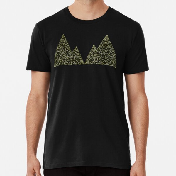 Twin Peaks mountain symbol Premium T-Shirt