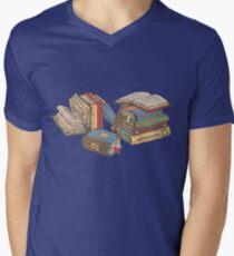 Books Men's V-Neck T-Shirt