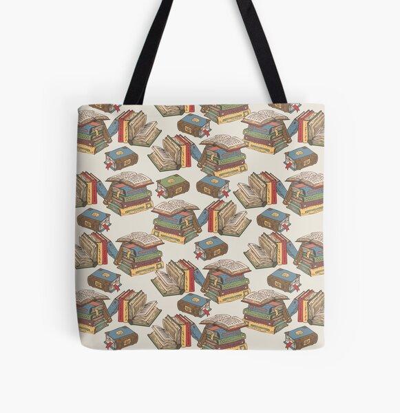 Books All Over Print Tote Bag