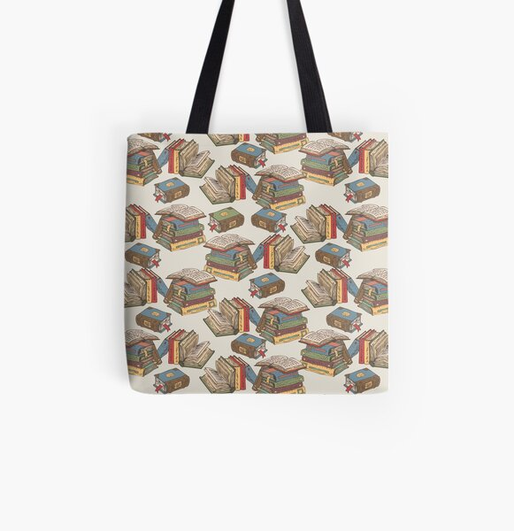 Books All Over Print Tote Bag