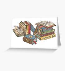 Tarjeta de felicitación Libros