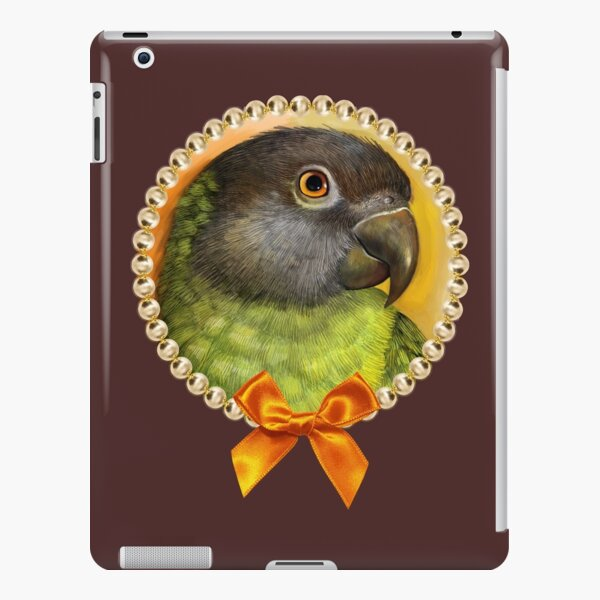 Senegal parrot realistic painting iPad Snap Case