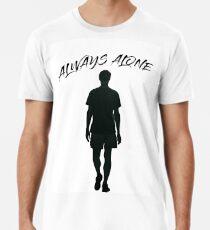 Immer allein - Johnny Cash - Premium T-Shirt