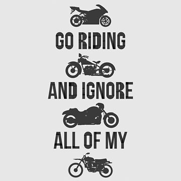 Go Riding Motorbikes by fimbisdesigns