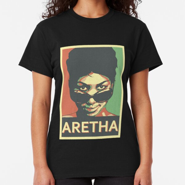 Aretha Franklin Shades Classic T-Shirt