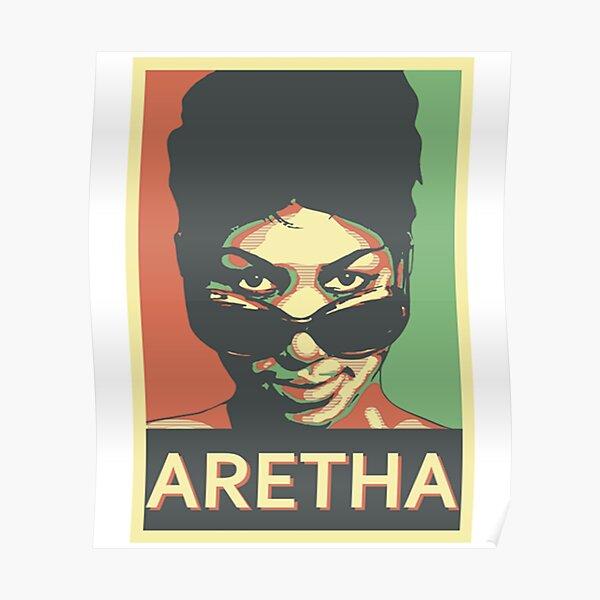 Aretha Franklin Shades Poster