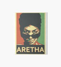 Aretha Franklin Shades Art Board